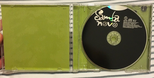 cd samba novo - vários artistas