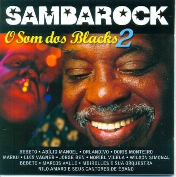 cd sambarock - o som dos blacks 2 - varios