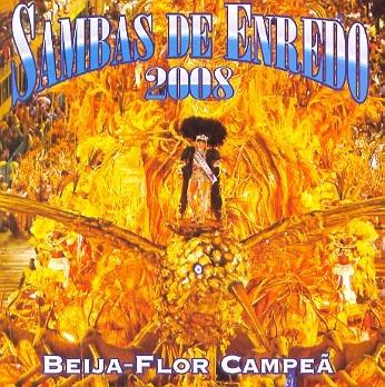 cd sambas de enredo 2008 - beija flor campea