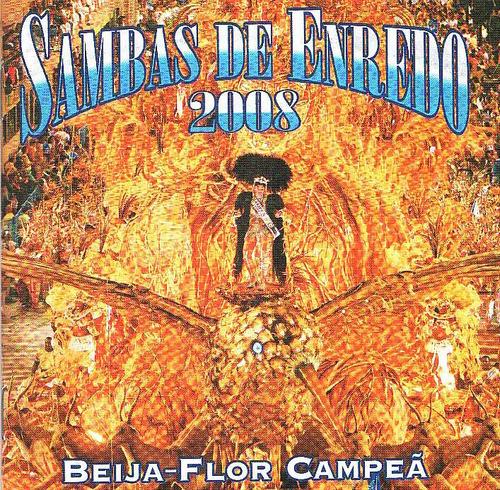 cd sambas de enredo 2008 - rio de janeiro