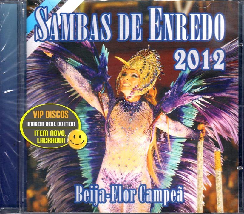 cd samba enredo 2012 rio de janeiro