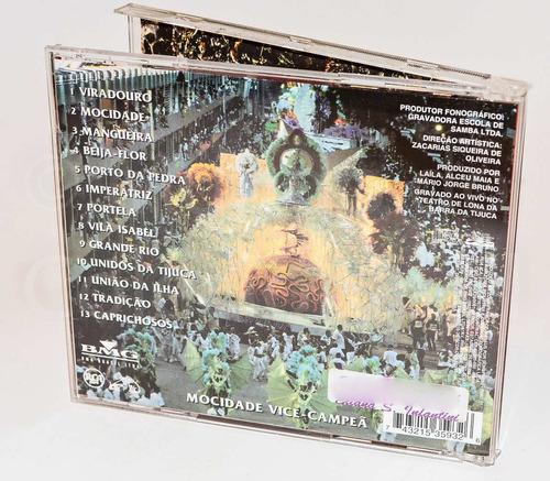 cd - sambas enredo 98 - viradouro campeã