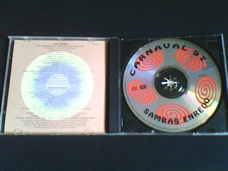 cd  sambas enredo carnaval 97  (são paulo)