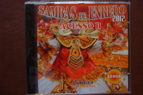 cd sambas enredo escolas samba acesso b lesga carnaval 2012
