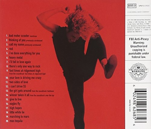 cd : sammy hagar - essential red collection (remastered)