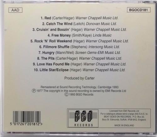 cd sammy hagar red 1993 england bgo records 10 raixas