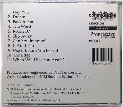 cd samson samson 1993 communiqué records em perfeito estado