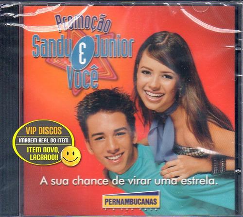 cd sandy e junior promocão pernambucanas - lacrado raro