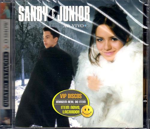 cd sandy e junior quatro estações ao vivo  novo lacrado raro
