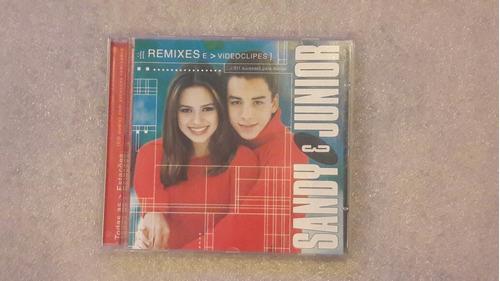 cd sandy e junior todas as estações- remixes vídeo clipes