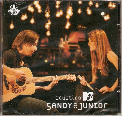 cd sandy & junior - acústico mtv - novo***