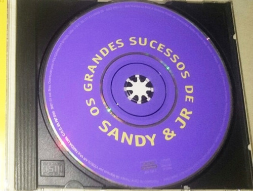 cd sandy & junior - os grandes sucessos