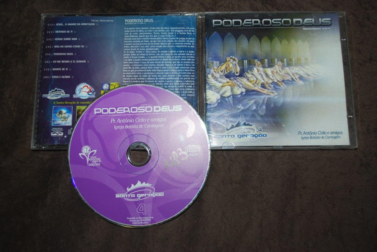 cd poderoso deus antonio cirilo
