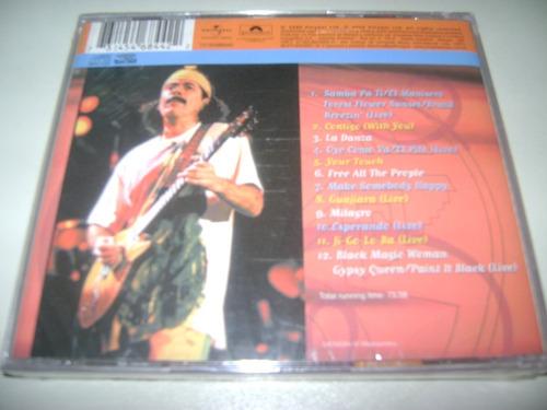 cd santana classic 1 original !