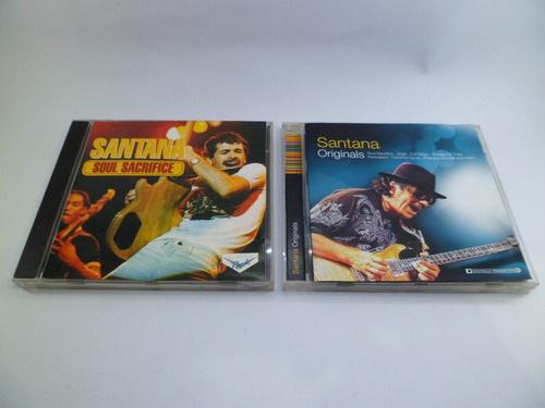 cd santana soul sacrifice originals 2 cd´s música