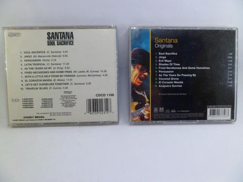 cd santana soul sacrifice originals 2 cd´s música