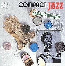 cd sarah vaughan - compact jazz (usado/otimo)