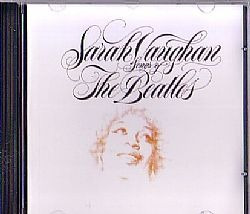 cd sarah vaughan - songs of the beatles (usado/otimo)
