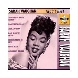 cd sarah vaughan - thou swell