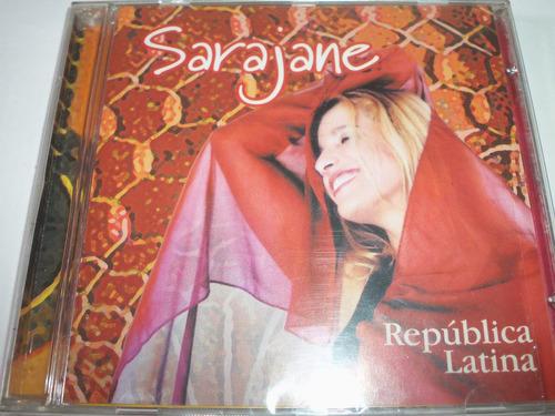 cd sarajane 2002 republica latina / é d'oxum + vumbora amar