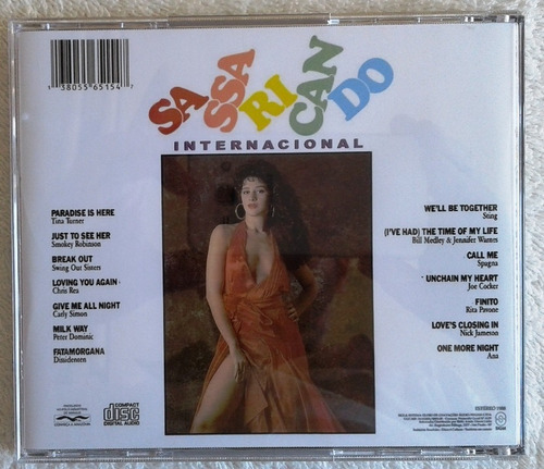 cd sassaricando internacional