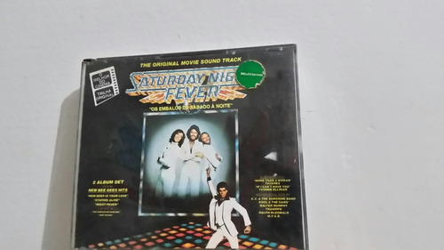 cd saturday night fever -duplo e raro !