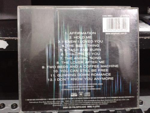 cd - savage garden - affirmation