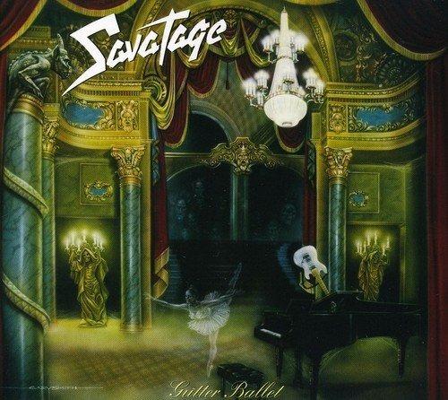 cd : savatage - gutter ballet (cd)