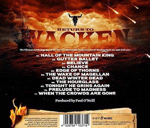 cd : savatage - return to wacken (cd)