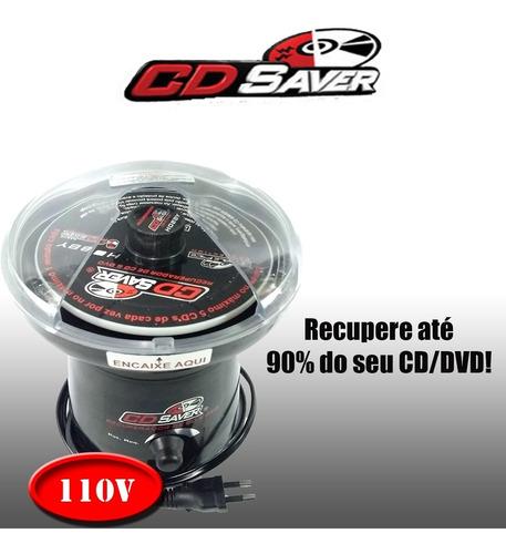 cd saver hobby recuperador de discos arranhados (110v)