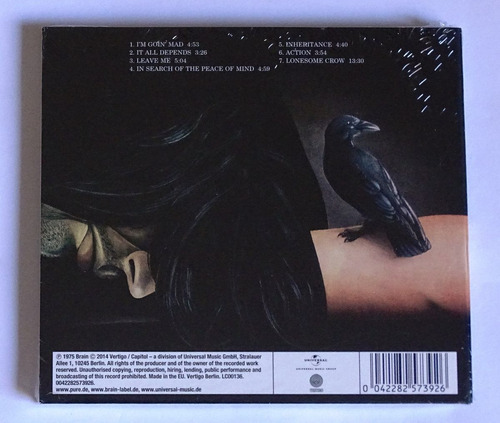cd scorpions lonesome crow digipak novo / lacrado importado