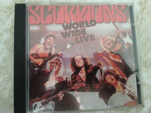 cd scorpions world wide live ja 85 frete grátis