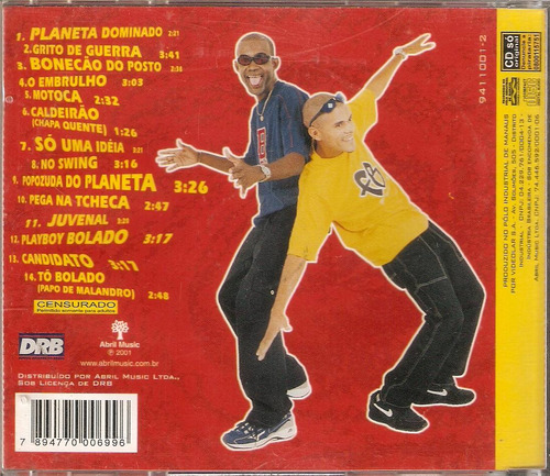 cd sd boys - planeta dominado - novo***