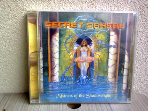 cd secret sphere - mistress of the shadowlight (hellion rec)