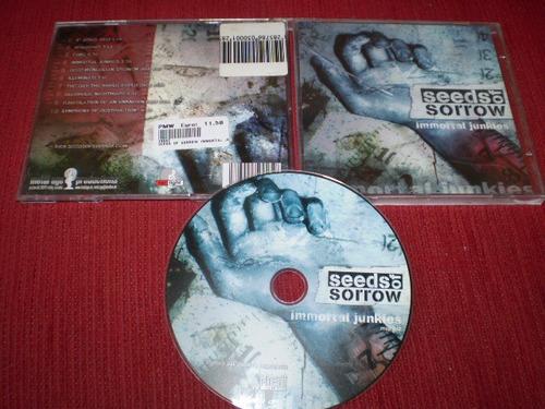 cd seeds of sorrow - immortal junkies deicide krisiun morbid