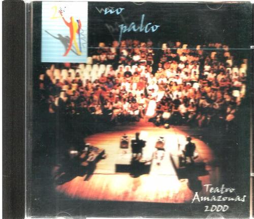 cd segundas (2ªs) no palco teatro amazonas 2000