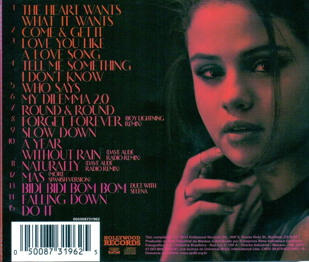 Cd Selena Gomez - For You - Novo*** - R$ 21,00 em Mercado ...  Cd Selena Gomez...