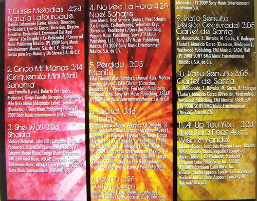 cd sencillo, acoplado, manitu, pambo, wisin y yandel, hwo