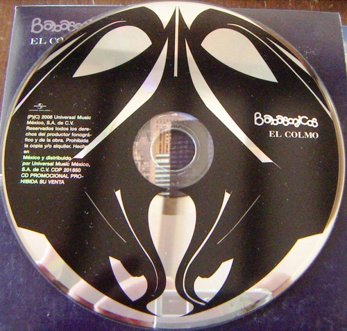 cd sencillo, babasonicos, el colmo