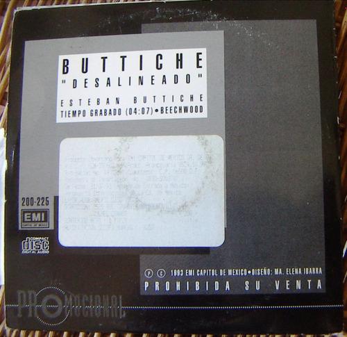 cd sencillo, esteban buttiche, desalineado, hwo
