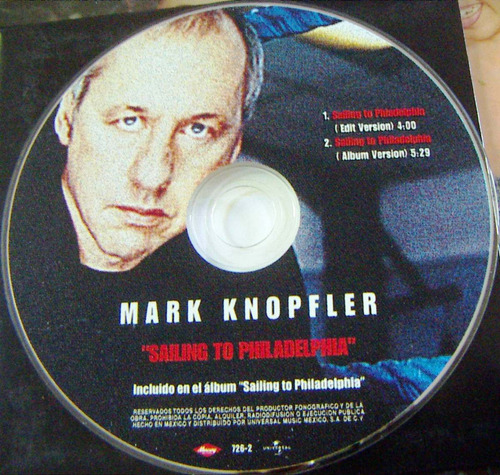 cd sencillo, mark knopfler, sailing to philadelphia, wsl