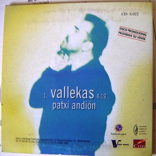 cd sencillo, patxi andión, vallekas, hwo