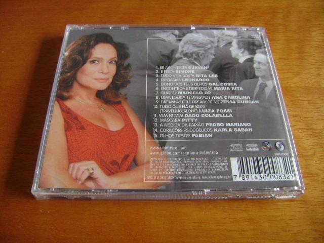 gratis cd da novela senhora do destino