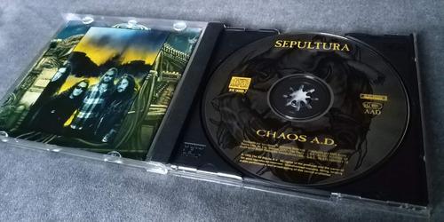 cd sepultura chaos a.d. original nacional frete r$15