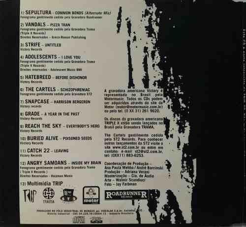 cd  sepultura e + onze bandas punk  - b251
