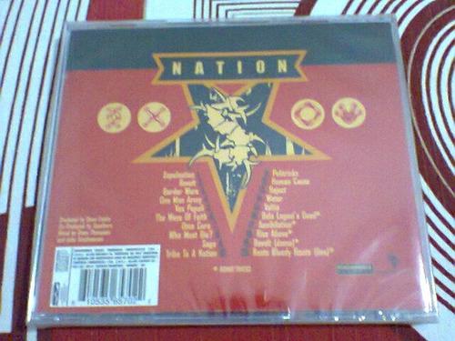 cd sepultura / nation  --  lacrado  --  (frete grátis)