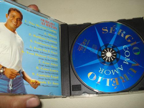 cd - sérgio aurélio- com amor