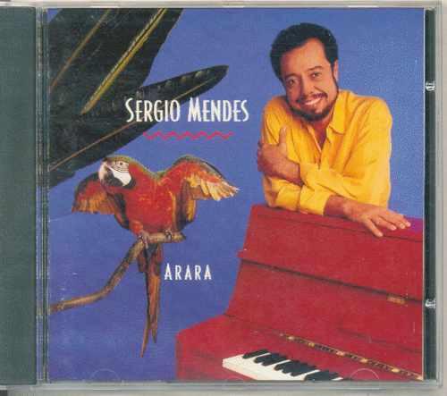 cd sergio mendes - arara - 1989 - importado
