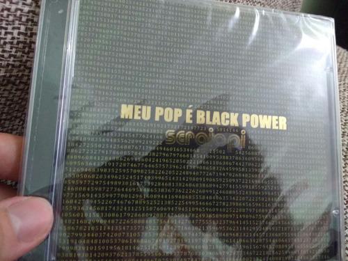 cd sérgio pi - meu pop é black power (lacrado)