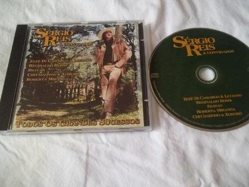 cd - sérgio reis e convidados - sertanejo